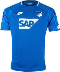 LOTTO Herren Fußballtrikot TSG 1899 Hoffenheim Heim Saison 2018/19