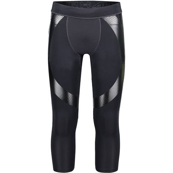 UNDERARMOUR Damen Funktionstights Superbase 3/4-Länge Schwarz