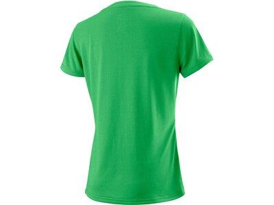 """WILSON Damen Tennisshirt """"UWII Script Tech Tee"""" Kurzarm Weiß"""