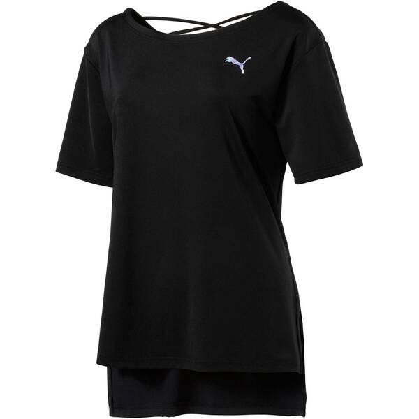 PUMA Damen Trainingsshirt Transition Kurzarm