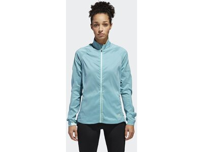 ADIDAS Damen Supernova Confident Three Season Jacke Grün