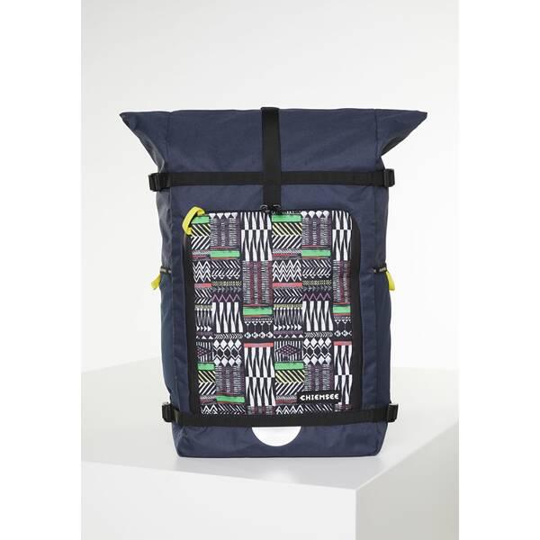 CHIEMSEE Rucksack mit zwei flexiblen Netztaschen an der Seite