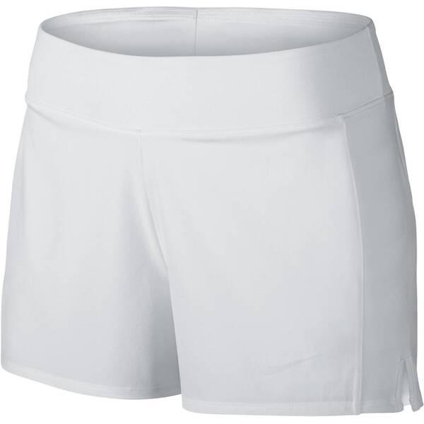 NIKE Damen Tennisshorts Court Baseline | Sportbekleidung > Sporthosen > Tennisshorts | White | Nike