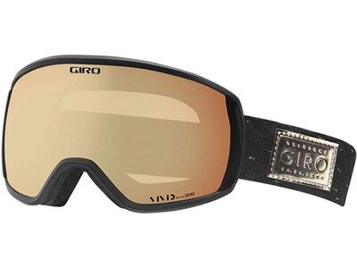GIRO Damen Skibrille / Snowboardbrille Facet Schwarz