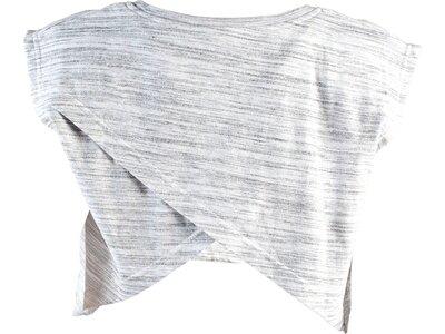 Sport-Top Mesh Double Layer Crop Top Grau