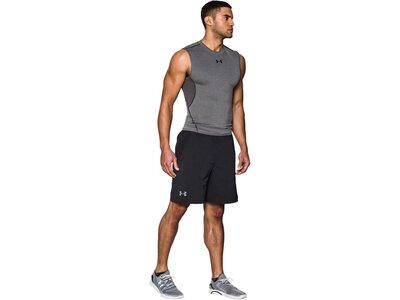 UNDERARMOUR Underwear - Kurzarm Heatgear Compression Top Schwarz