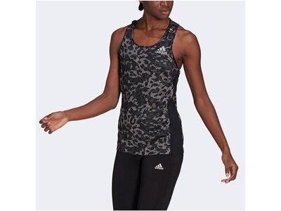 """ADIDAS Damen Laufsport Shirt """"Primeblue"""" ?rmellos Grau"""