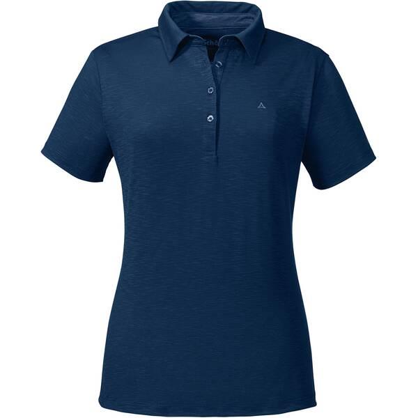 SCHÖFFEL Damen Poloshirt Capri1 Kurzarm