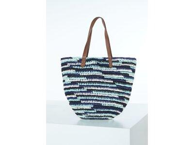 CHIEMSEE Strandtasche Straw Beach Bag Blau