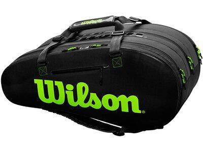"""WILSON Tennistasche """"Super Tour 3 Comp"""" Schwarz"""