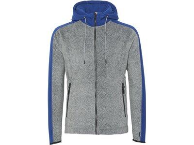 CHIEMSEE Fleece Jacke mit Kapuze Grau
