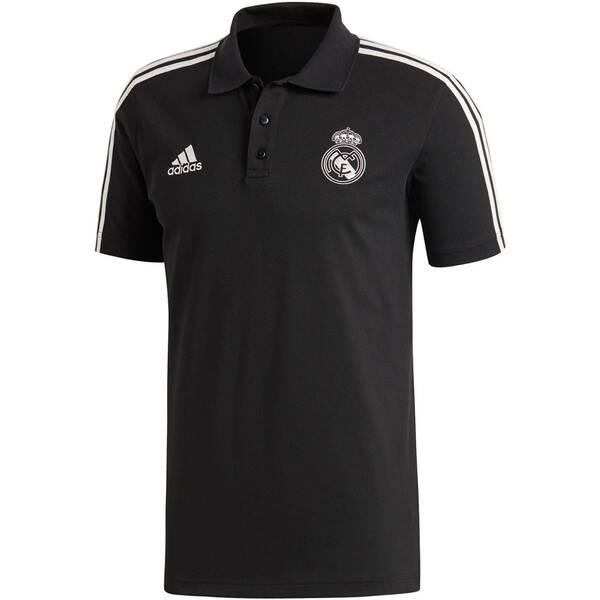 ADIDAS Herren Poloshirt Real Madrid Kurzarm Saison 2018/19