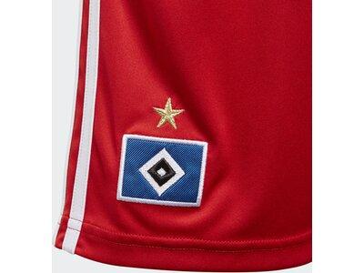 ADIDAS Kinder Hamburger SV Heimshorts Weiß
