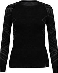"ODLO Damen Funktionsunterhemd ""SUW Top Crewe L/S natural + Kinship Warm"" Langarm"