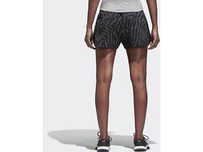 ADIDAS Damen Graphic Shorts Schwarz