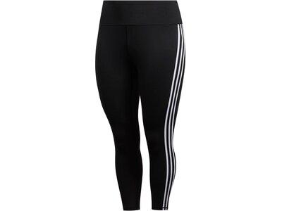 ADIDAS Damen Fitness-Tights 7/8-Länge - Plus Size Schwarz