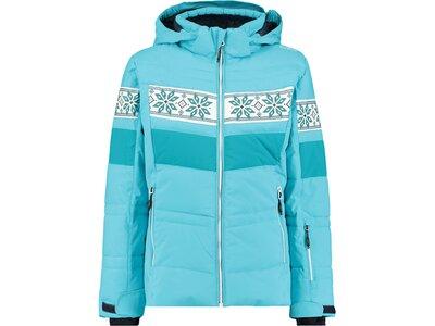 "CMP Mädchen Skijacke ""Girl Jacket Snaps Hood"" Blau"