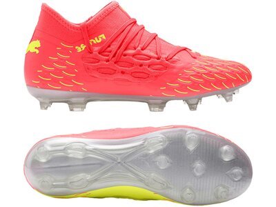 PUMA Fußball - Schuhe Kinder - Nocken FUTURE Rise 5.3 NETFIT OSG FG/AG Kids Braun