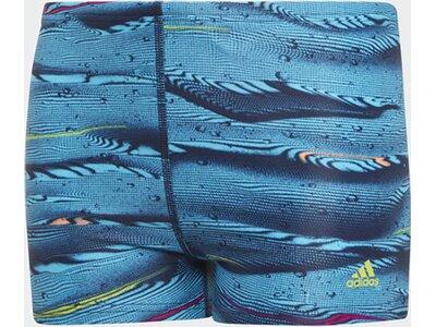 ADIDAS Kinder Parley Swim Boxer-Badehose Blau