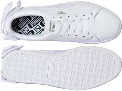 PUMA Damen Sneakers Basket Bow Weiß
