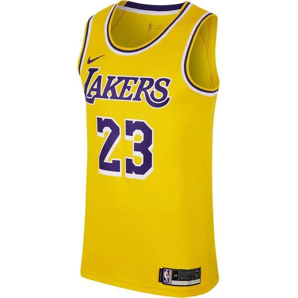 "NIKE Herren Basketball Trikot ""LeBron James Icon Edition Swingman Jersey (Los Angeles Lakers)"""
