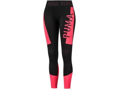 """PUMA Damen Trainingstights """"Logo 7/8 Tight"""" Pink"""