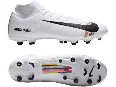 NIKE Fußball - Schuhe - Nocken Mercurial Superfly VI Level UpAcademy MG Silber