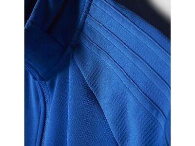 ADIDAS Kinder Tiro 17 Trainingsjacke Blau