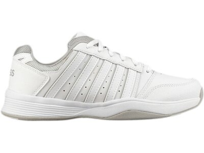 """K-SWISSLIFESTYLE Damen Tennisschuhe Indoor """"Court Smash Carpet"""" Weiß"""