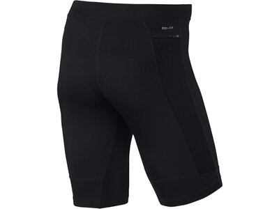 "NIKE Herren Lauftight ""Dri Fit Essential Half Tight"" Schwarz"