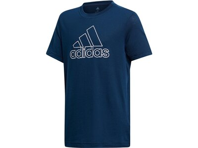 ADIDAS Kinder Trainingsshirt Prime Tee Blau