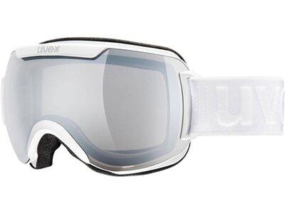 """UVEX Ski- und Snowboardbrille """"Downhilll 2000"""" white silver Weiß"""