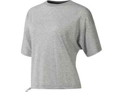 REEBOK Damen Shirt EE COTTON MESH Grau