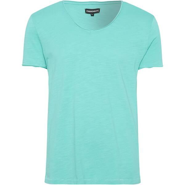 CHIEMSEE T-Shirt Slub mit V-Neck