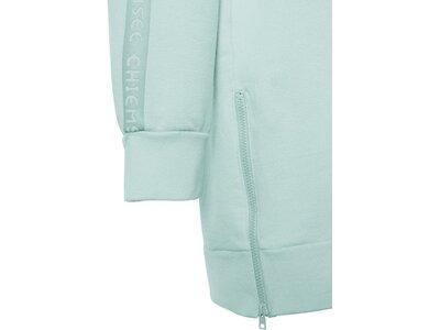 CHIEMSEE Sweatkleid mit seitlichem Reißverschluss Blau