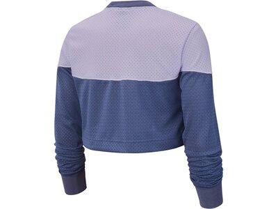 "NIKE Damen Sweatshirt ""Heritage"" Cropped Lila"