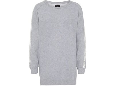 CHIEMSEE Sweatkleid mit seitlichem Reißverschluss Grau