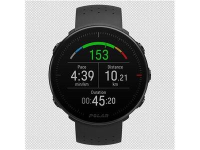 "POLAR GPS-Multisportuhr ""Vantage M"" Schwarz"