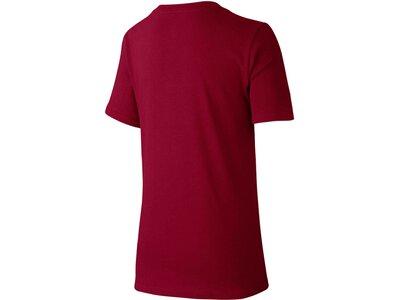 NIKE Jungen T-Shirt Half Futura Rot