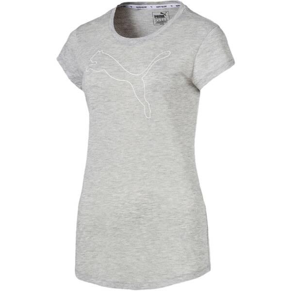 "PUMA Damen Trainingsshirt ""Active Logo Heather Tee"""