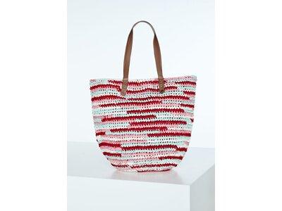 CHIEMSEE Strandtasche Straw Beach Bag Orange