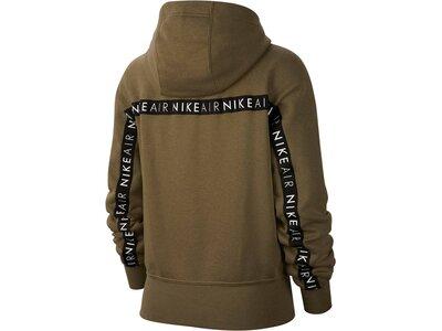 """NIKE Damen Sweatshirt """"Air Hoodie"""" Grün"""