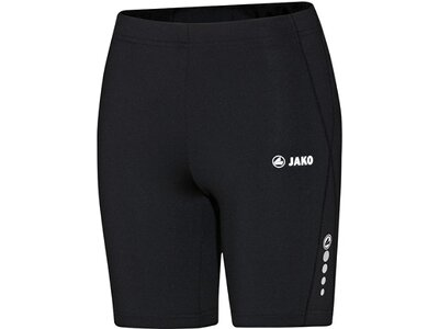 JAKO Damen Short Tight Run Schwarz