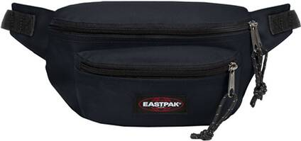 "EASTPAK Bauchtasche ""Doggy Bag Black Denim"""