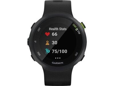 """GARMIN GPS-Laufuhr """"Forerunner 45"""" schwarzes Armband Schwarz"""