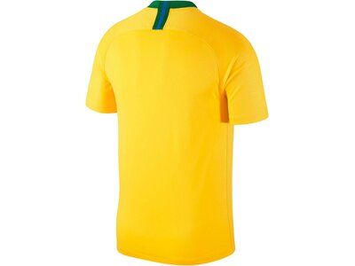 "NIKE Herren Fußballtrikot ""Brasil CBF Stadium Home"" WM 2018 Grün"