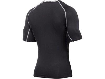 UNDERARMOUR Herren Funktionsunterhemd / Kompressionsshirt HeatGear Kurzarm Grau