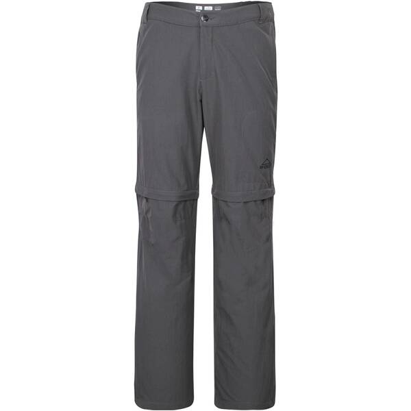 McKINLEY Herren Zip-Off-Hose / Wanderhose Minden II Grau