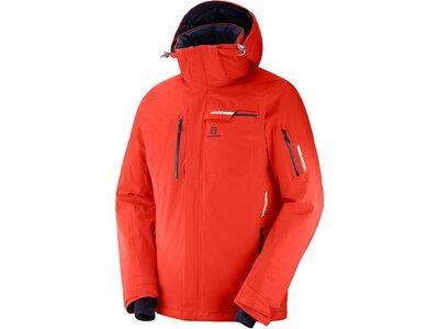 "SALOMON Herren Skijacke ""Brilliant Jacket"" Rot"