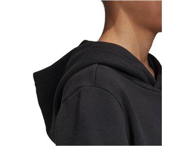 ADIDAS Jungen Sweatshirt mit Kapuze Schwarz
